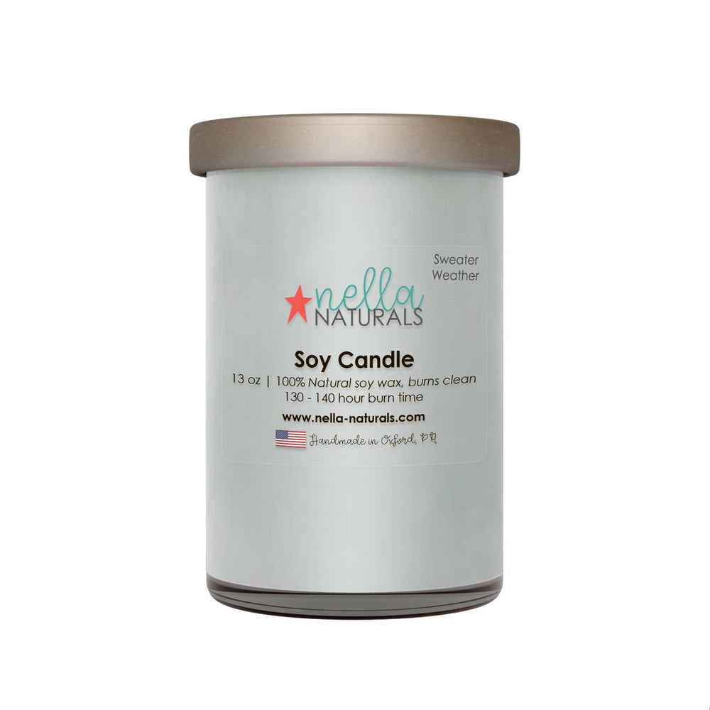 13oz Sweater Weather Soy Wax Candle
