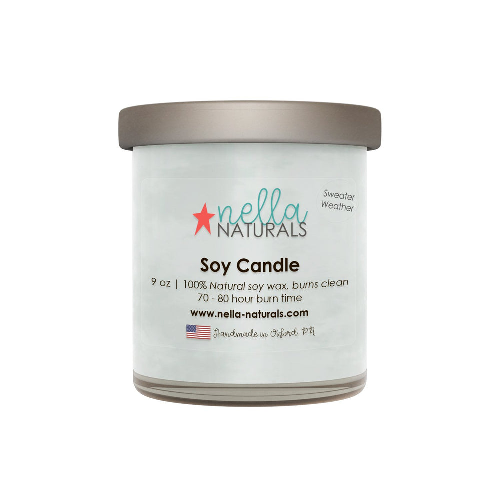 9oz Sweater Weather Soy Wax Candle