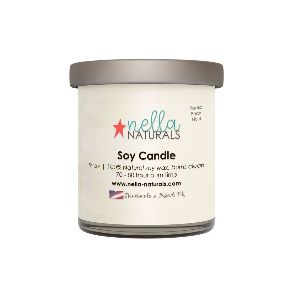 9oz Vanilla Bean Noel Soy Wax Candle