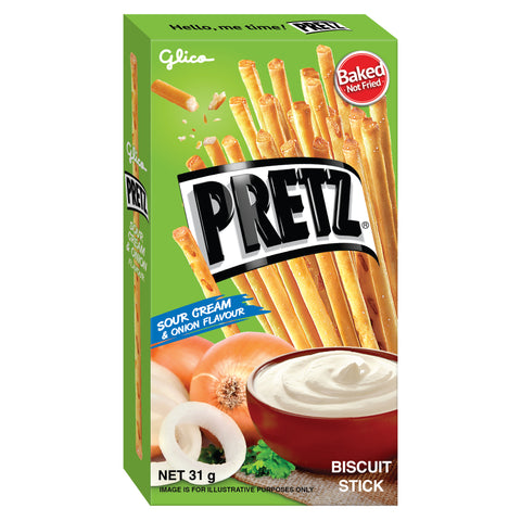 Pretz Sour Cream & Onion