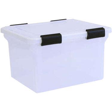 Ultimate File Box by Iris - Airtight & Water Resistant!