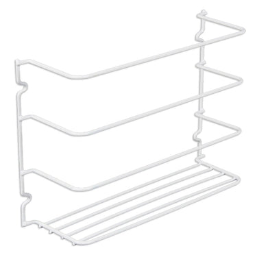 Kitchen Wrap Storage Rack for Foil/Plastic Wrap