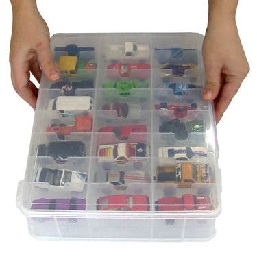 Toy Car Carry Case - Matchbox Car Storage by Plano
