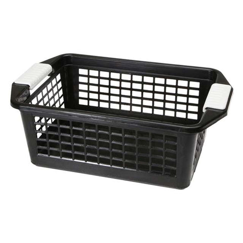 "Medium Dial Flip-N-Stack Basket - 12.25"" L x 8"" D x 4.5"" H"