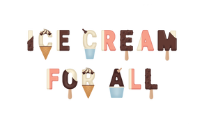 Shop Tee Ice Cream For All