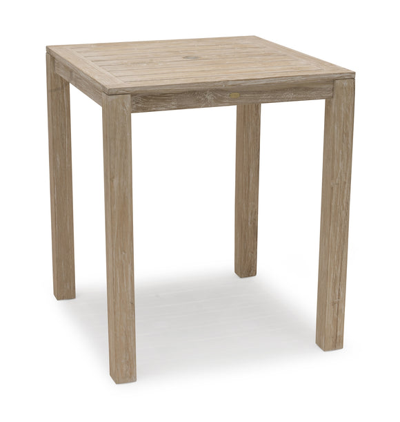 Wellington Bartisch Teak whitewashed, 90 x 90 x 106 cm