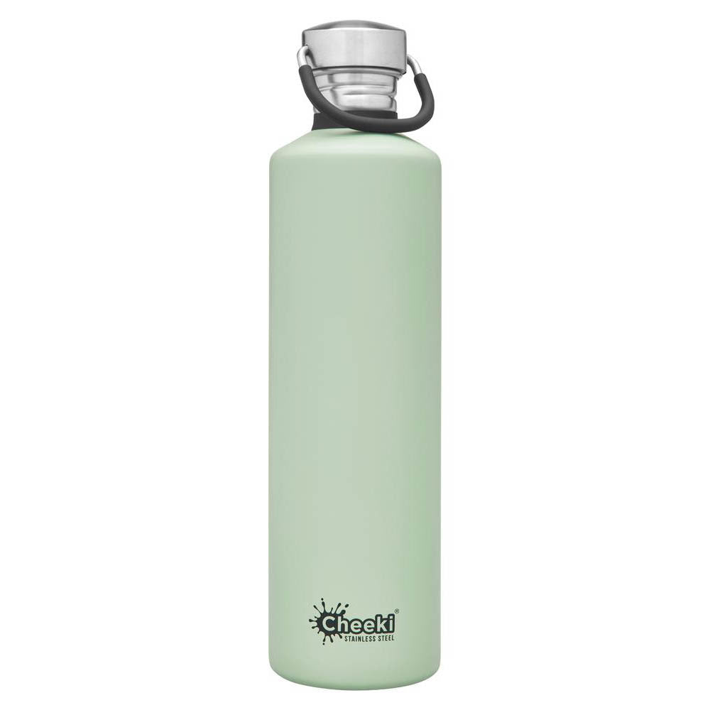 CHEEKI 1L Classic Single Wall Bottle - Pistachio