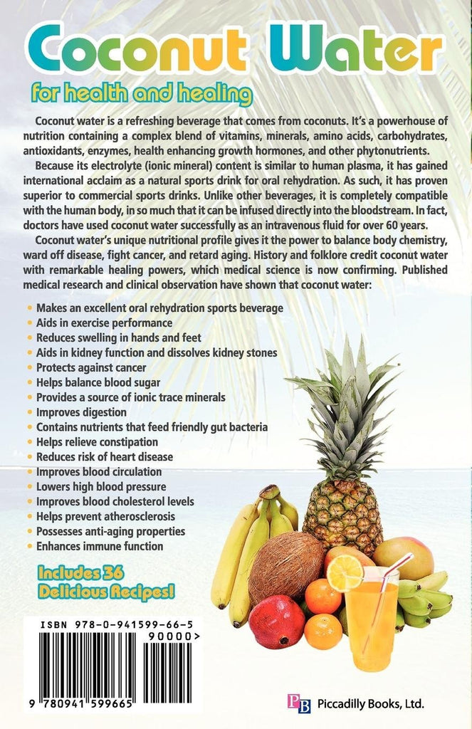 Coconut Water for Health & Healing