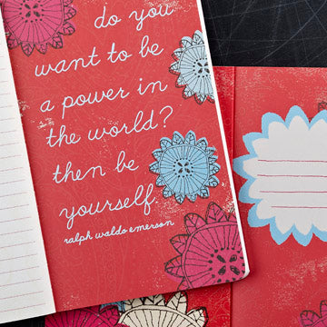 Say Things To The World That Are True - Write Now Journal