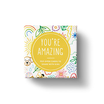 You Are Amazing -Kids ThoughtFulls Pop Open Window Cards