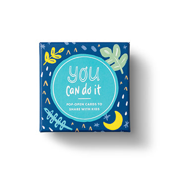 You Can Do It -Kids ThoughtFulls Pop Open Window Cards