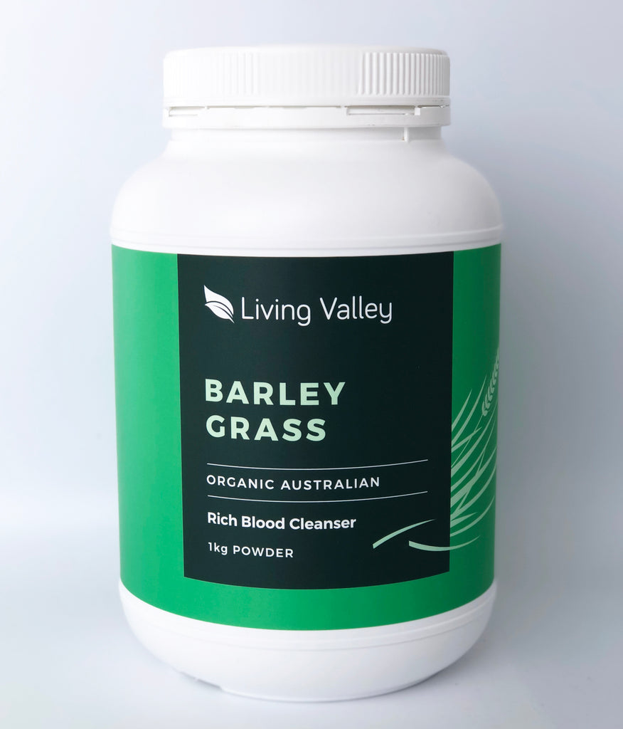 Living Valley 100% Australian Organic Barley Grass