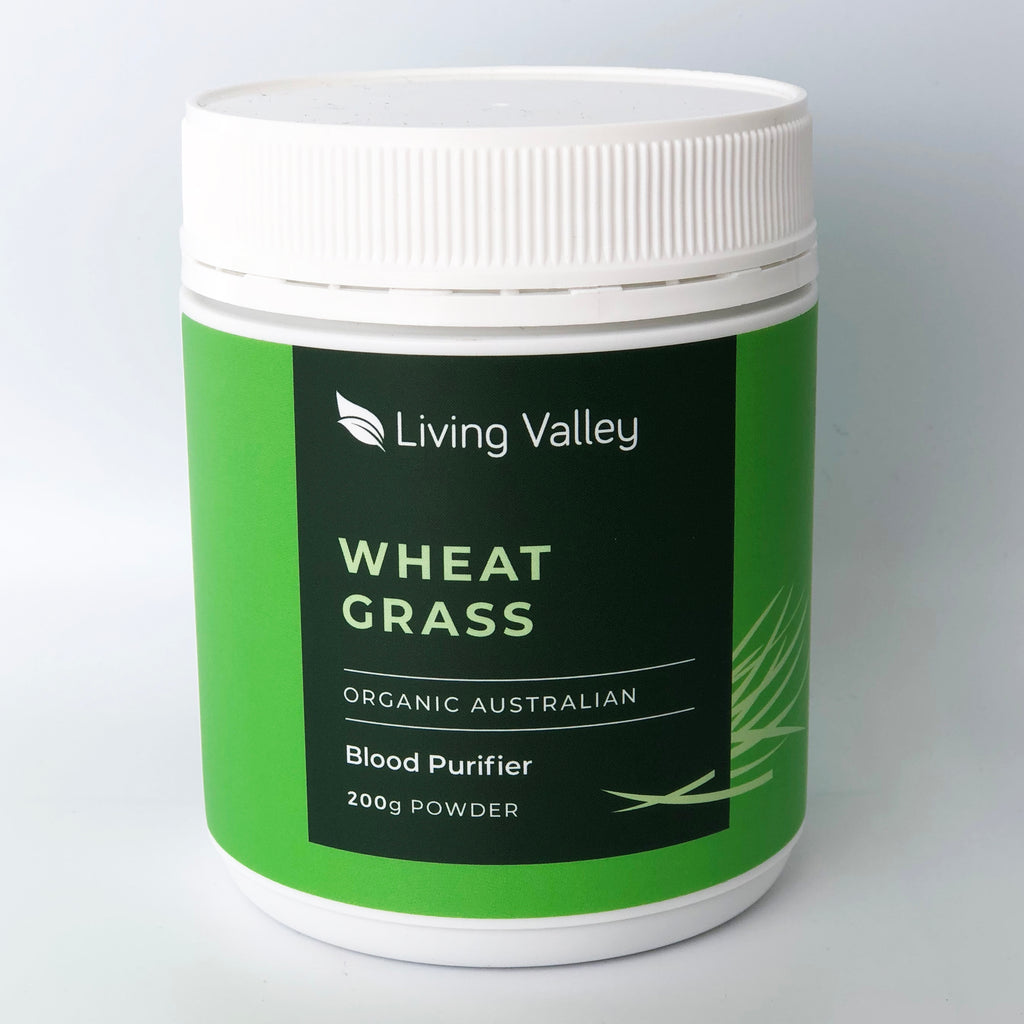 Living Valley 100% Australian Organic Wheat Grass Powder