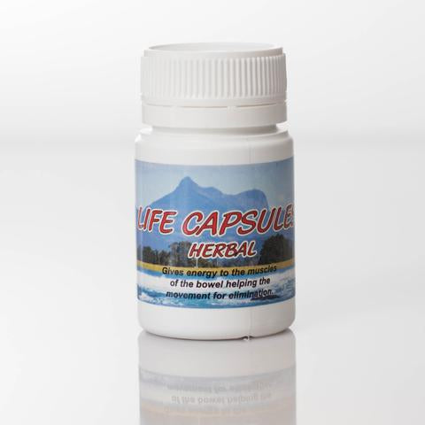 Herbal Life Capsules 60 Capsules - Small (1/2 size)