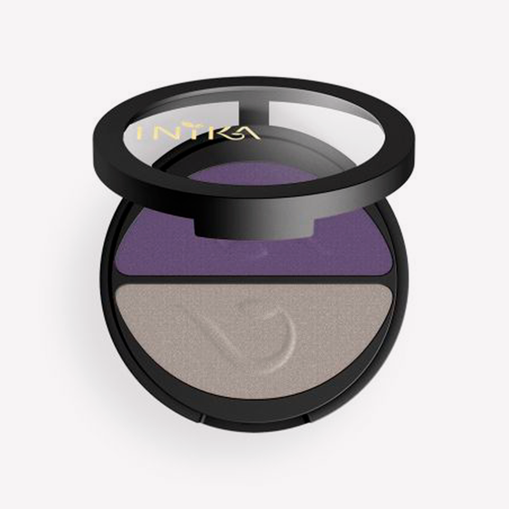 Inika Pressed Mineral Eye Shadow Duo - 3.9g