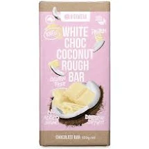 Vitawerx White Choc Coconut Rough Bar 100g