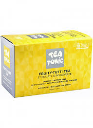 Tea Tonic Unbleached 20 Teabags Fruity Tutti