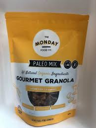 The Monday Company Honeyed Cashew Paleo Granola - 300g