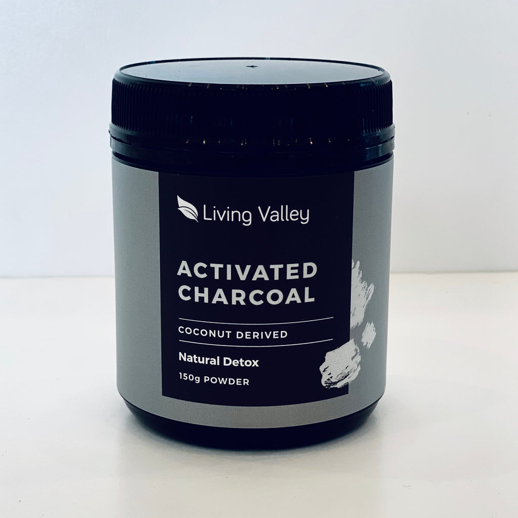 Living Valley Activated Charcoal Powder 150g