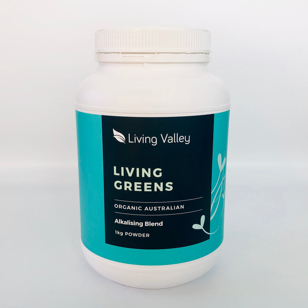 Living Valley 100% Australian Organic Living Greens Powder