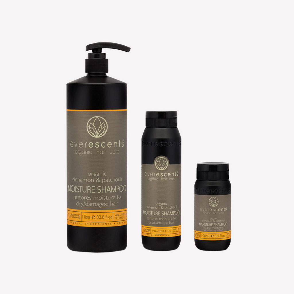 EverEscents Organic Moisture Shampoo - Patchouli & Cinnamon