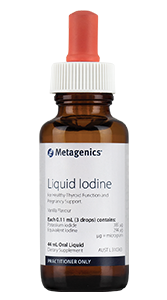 Metagenics Liquid Iodine 44ml