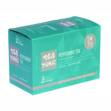 Tea Tonic Unbleached 20 Bags Peppermint