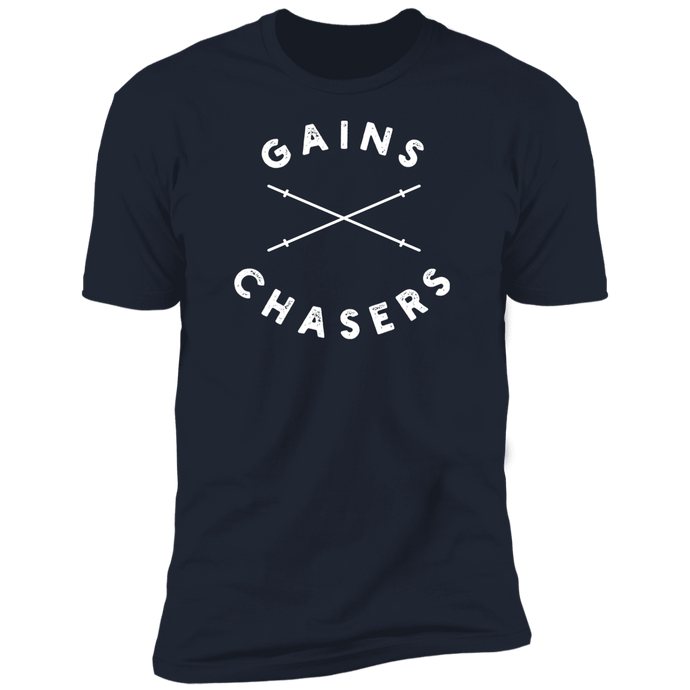 Gains Chasers Logo Tee