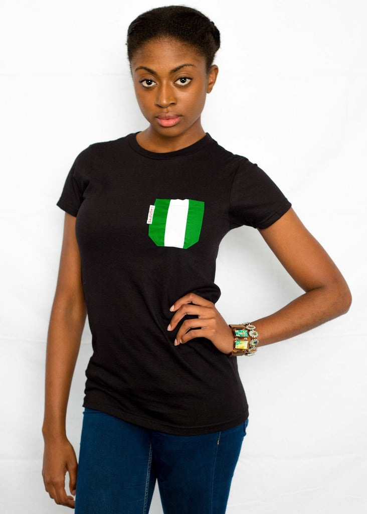 Represent Your Own Country Pocket Tee Slim Fit