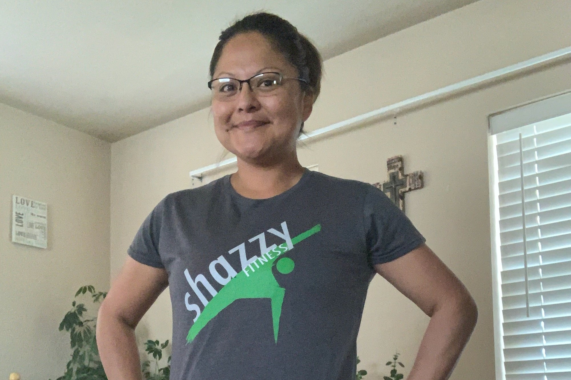 Exercise to Uplifting Encouraging Music with Shazzy Fitness: Meet Sausha Nells!