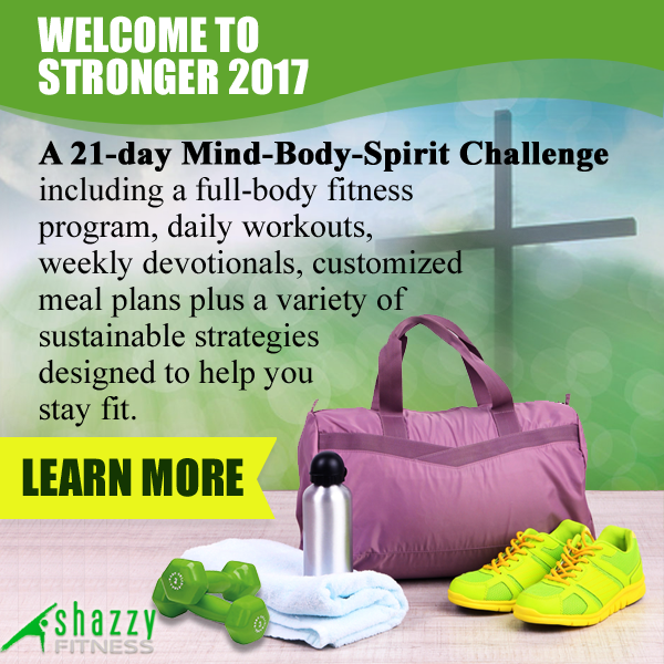 21-Day Stronger Challenge 2017