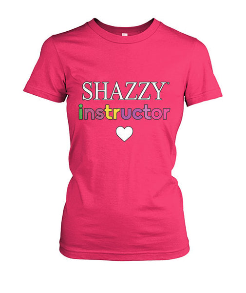 Classic Shazzy Tee w/ Heart - Instructor
