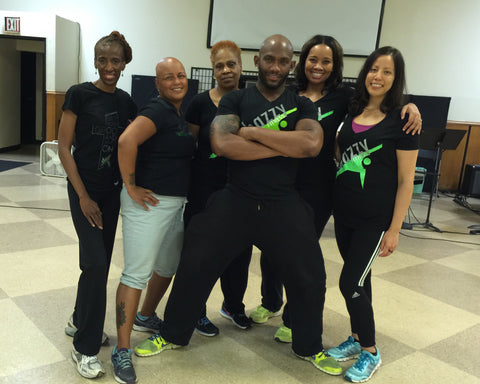Community Christian Church of NYC Shazzy Fitness Instructor Certification Class Training September 2015