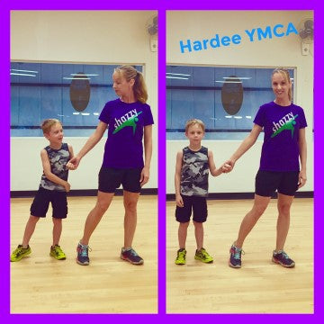 Brittanie Braxton Showing her Shazzy Moves at Hardee YMCA in Florida