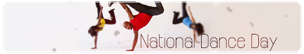 National Dance Day Image featuring Apollo.