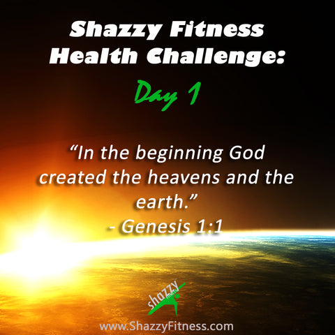 in the beginning shazzy fitness challenge day 1 genesis dance workout dvd