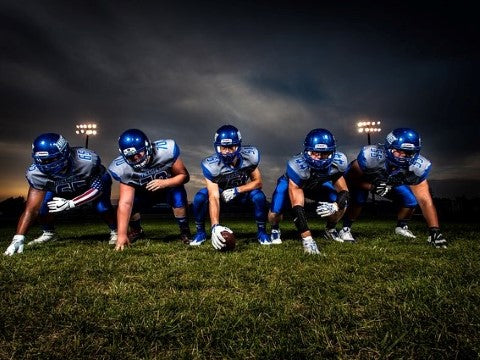 offensive line in your path