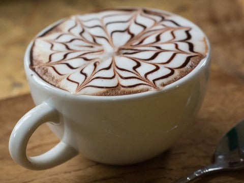 Shazzy celebrates National Cappuccino Day