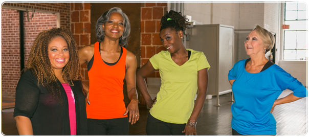 Shazzy Fitness dancers posing for image.