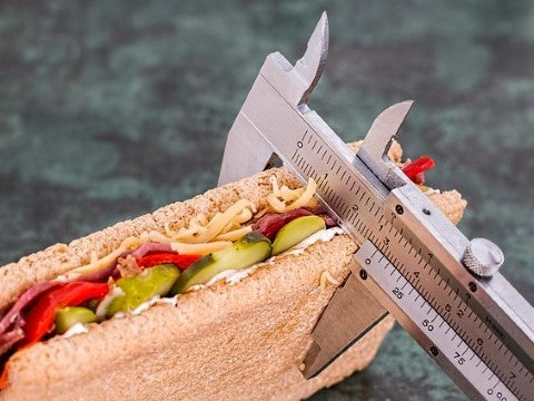 measuring everything for a fad diet