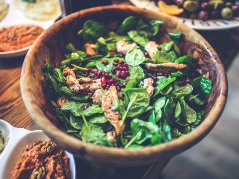 Try switching to leafy greens, avocados, nuts, grapes