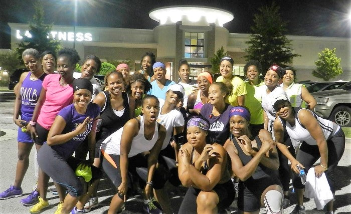 shazzy instructor eulice hooper class teaching winter fitness