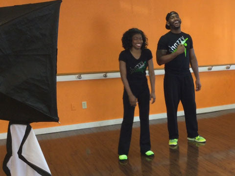 Vera Musgrove and Apollo Levine National Dance Day Shazzy Fitness