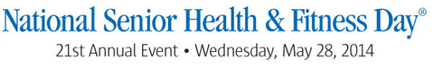 National Senior Health & Fitness Day banner