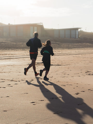 run and exercise together