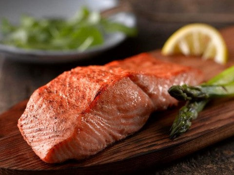 Foods like salmon are rich in protein and are necessary for good health