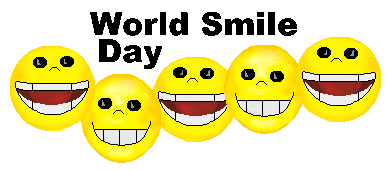Make Somone Smile, its World Smile Day