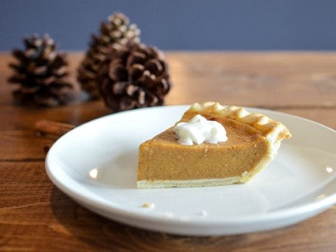 one plate rule dessert pumpkin pie