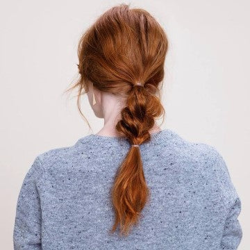 pre post workout hairstyles loose braid high ponytail