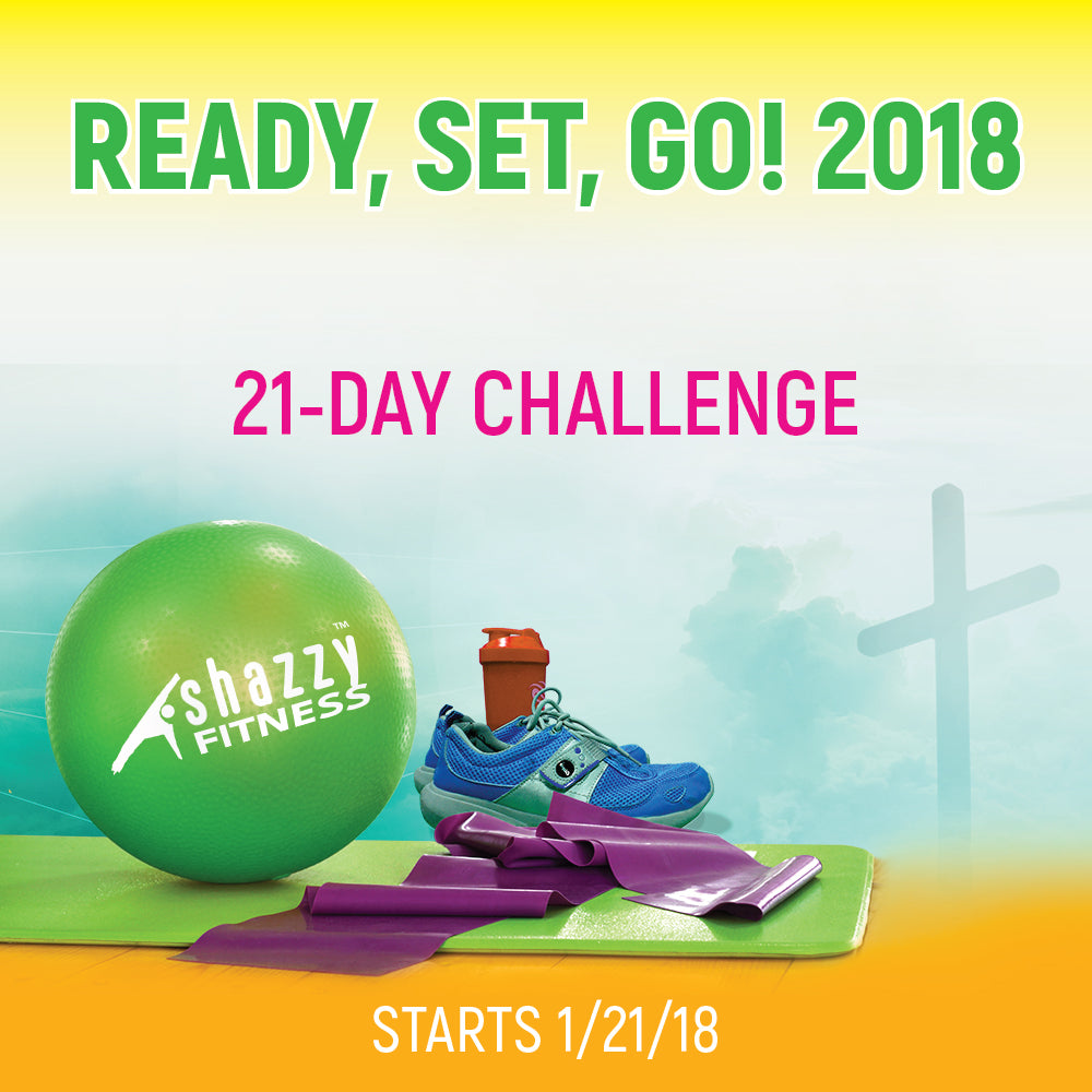 Ready/Set/Go 2018 Fitness Challenge - Platinum
